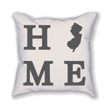 Load image into Gallery viewer, New Jersey Home State Pillow - Home Sweet Pillow Co