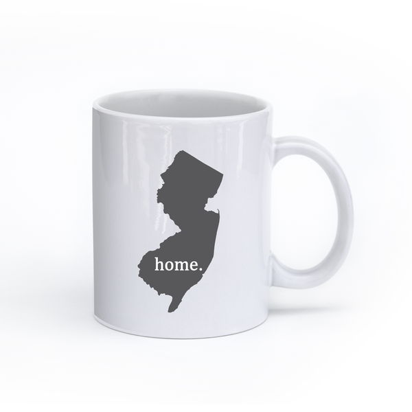 New Jersey Home State Mug - Home Sweet Pillow Co