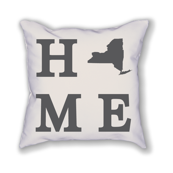 New York Home State Pillow - Home Sweet Pillow Co