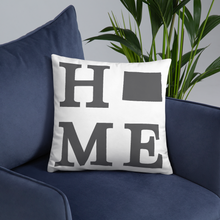 Load image into Gallery viewer, North Dakota Home State Pillow - Home Sweet Pillow Co
