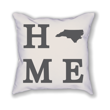 Load image into Gallery viewer, North Carolina Home State Pillow - Home Sweet Pillow Co