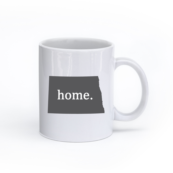 North Dakota Home State Mug - Home Sweet Pillow Co