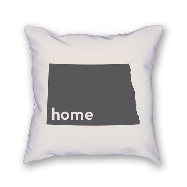 North Dakota Pillow - Home Sweet Pillow Co