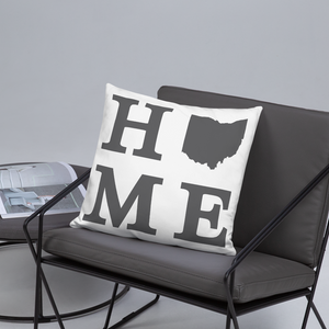 Ohio Home State Pillow - Home Sweet Pillow Co