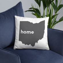 Load image into Gallery viewer, Ohio Pillow - Home Sweet Pillow Co