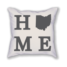 Load image into Gallery viewer, Ohio Home State Pillow - Home Sweet Pillow Co