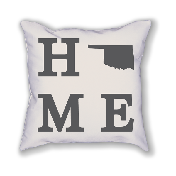 Oklahoma Home State Pillow - Home Sweet Pillow Co