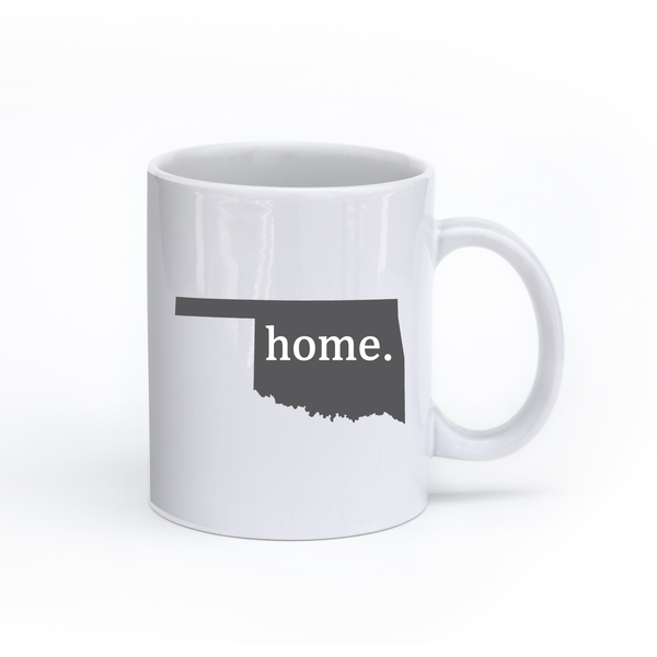 Oklahoma Home State Mug - Home Sweet Pillow Co