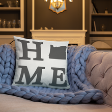 Load image into Gallery viewer, Oregon Home State Pillow - Home Sweet Pillow Co