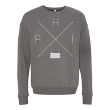 Load image into Gallery viewer, Philadelphia Home Crew Neck Sweatshirt - Home Sweet Pillow Co