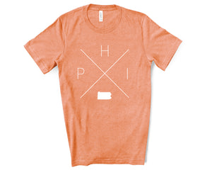 Philadelphia Home Tee - Home Sweet Pillow Co