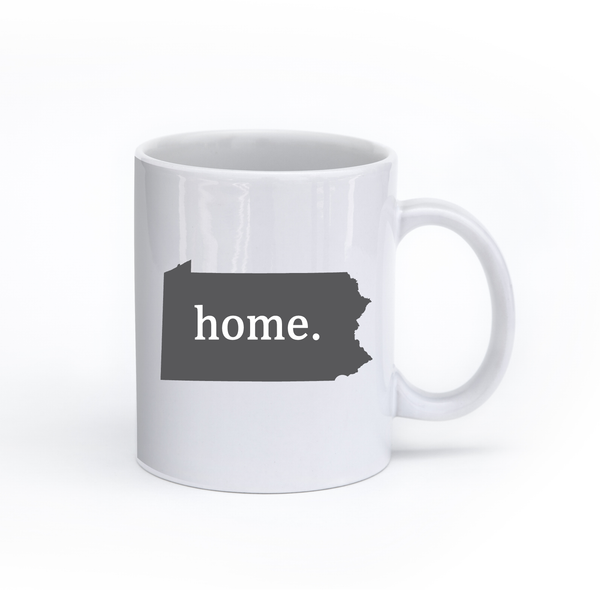 Pennsylvania Home State Mug - Home Sweet Pillow Co