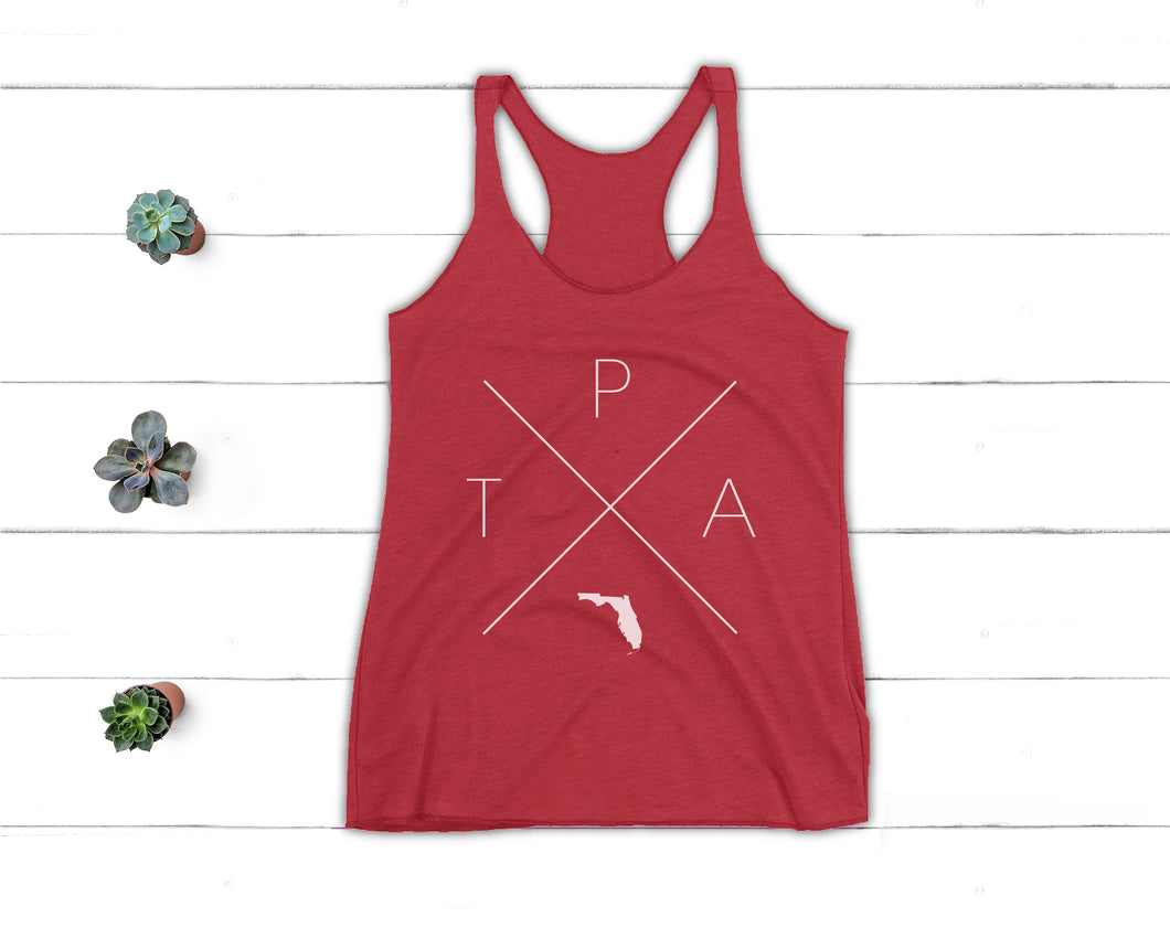 Tampa Racerback Tank - Home Sweet Pillow Co