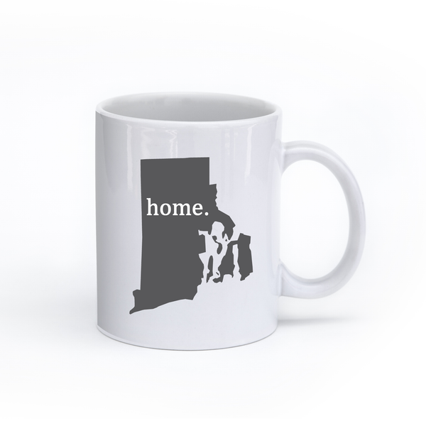 Rhode Island Home State Mug - Home Sweet Pillow Co