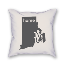 Load image into Gallery viewer, Rhode Island Pillow - Home Sweet Pillow Co