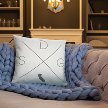 Load image into Gallery viewer, San Diego Home Pillow - Home Sweet Pillow Co