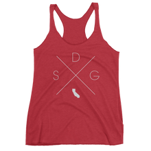 Load image into Gallery viewer, San Diego Racerback Tank - Home Sweet Pillow Co