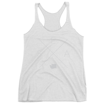 Load image into Gallery viewer, Seattle Racerback Tank - Home Sweet Pillow Co