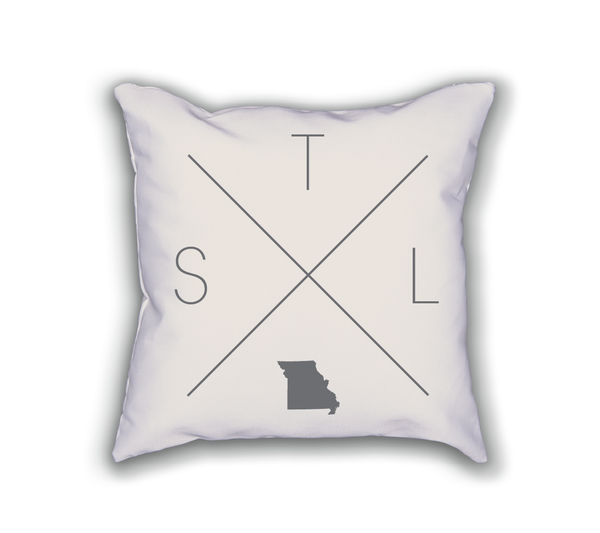 St. Louis Home Pillow - Home Sweet Pillow Co