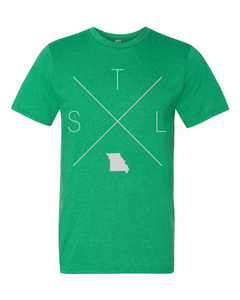 STL – St. Louis Lambert International Airport Tee - Home Sweet Pillow Co