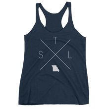 Load image into Gallery viewer, St. Louis Racerback Tank - Home Sweet Pillow Co