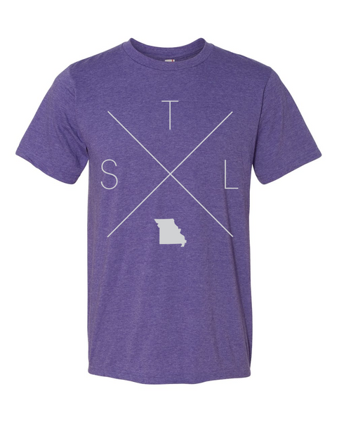 St. Louis Home Tee - Home Sweet Pillow Co