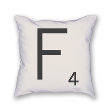 Load image into Gallery viewer, Scrabble Tile Pillow - Home Sweet Pillow Co