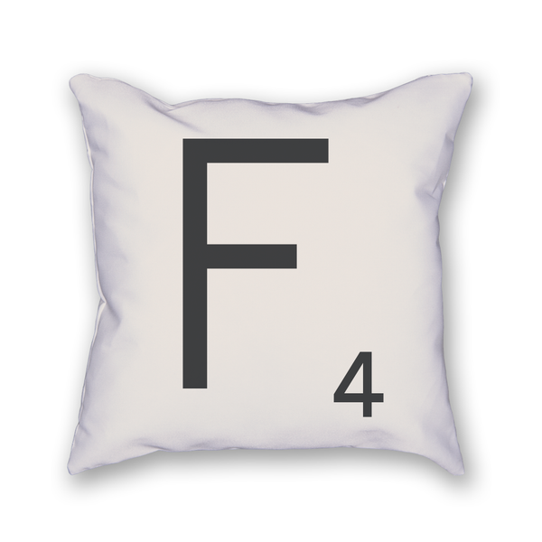 Scrabble Tile Pillow - Home Sweet Pillow Co