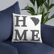 Load image into Gallery viewer, South Carolina Home State Pillow - Home Sweet Pillow Co