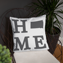 Load image into Gallery viewer, South Dakota Home State Pillow - Home Sweet Pillow Co
