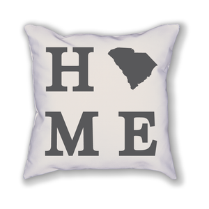 South Carolina Home State Pillow - Home Sweet Pillow Co