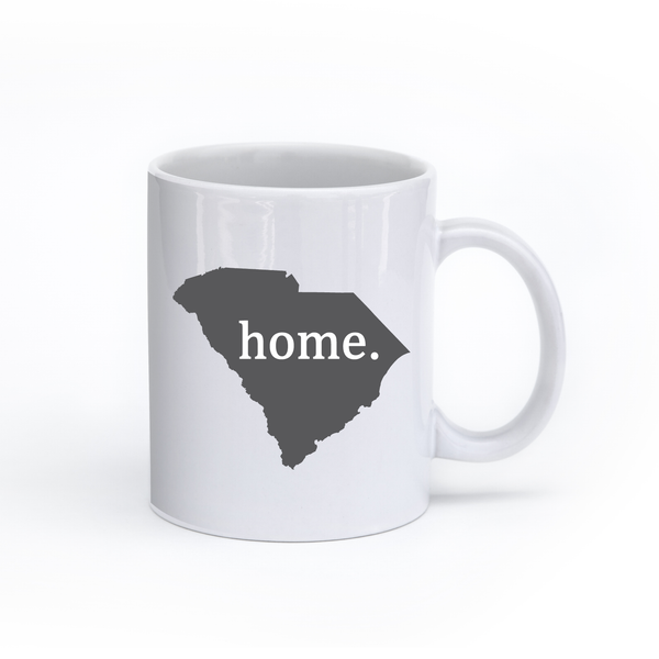 South Carolina Home State Mug - Home Sweet Pillow Co