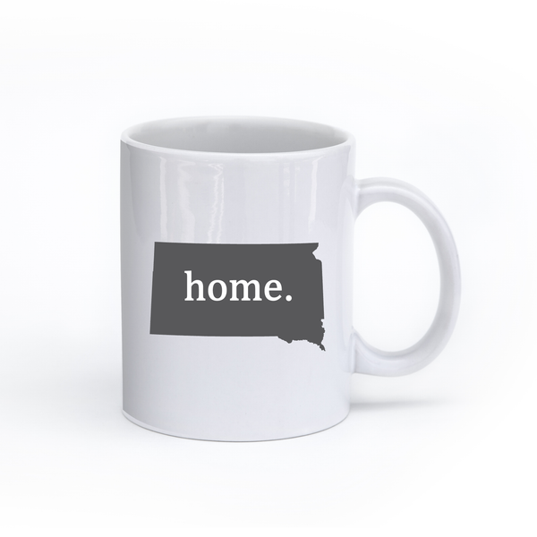 South Dakota Home State Mug - Home Sweet Pillow Co