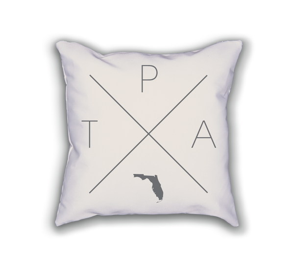 Tampa Home Pillow - Home Sweet Pillow Co