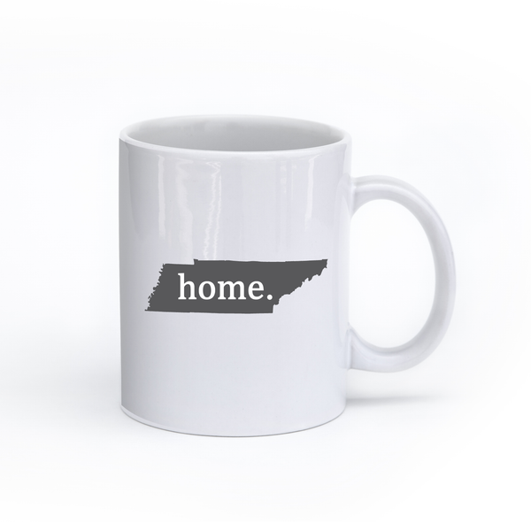 Tennessee Home State Mug - Home Sweet Pillow Co