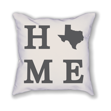 Load image into Gallery viewer, Texas Home State Pillow - Home Sweet Pillow Co