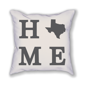 Texas Home State Pillow - Home Sweet Pillow Co
