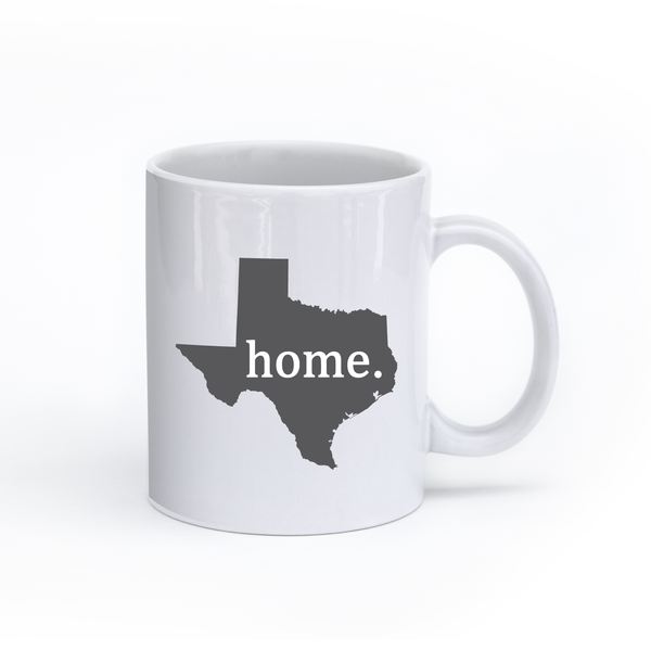 Texas Home State Mug - Home Sweet Pillow Co