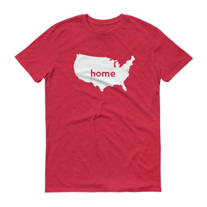 America Home T-Shirt - Home Sweet Pillow Co