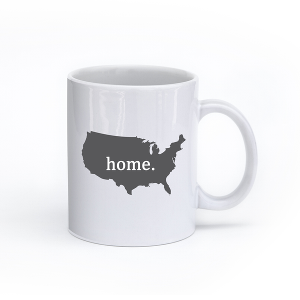 America Home State Mug - Home Sweet Pillow Co