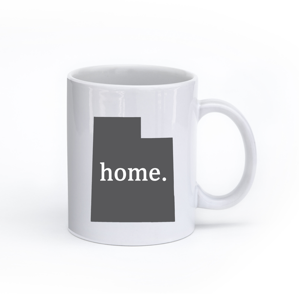 Utah Home State Mug - Home Sweet Pillow Co