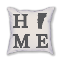 Load image into Gallery viewer, Vermont Home State Pillow - Home Sweet Pillow Co