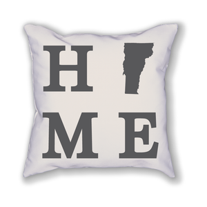 Vermont Home State Pillow - Home Sweet Pillow Co
