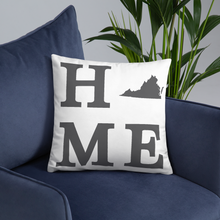 Load image into Gallery viewer, Virginia Home State Pillow - Home Sweet Pillow Co