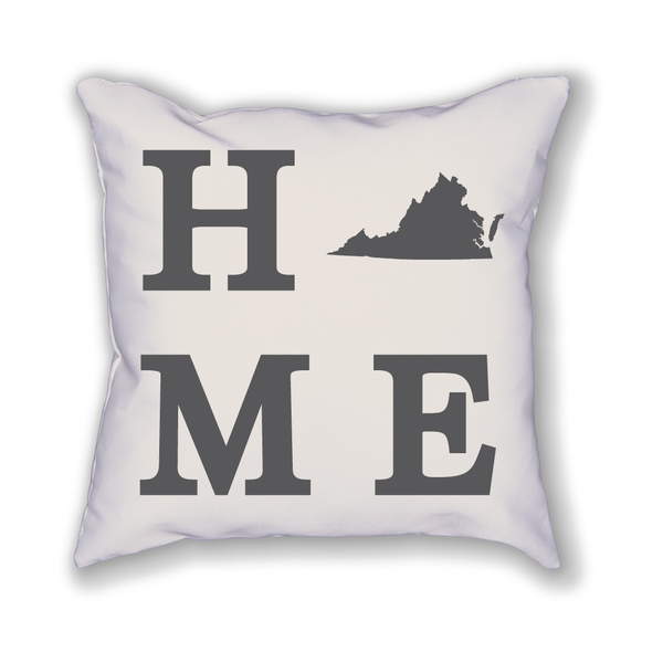 Virginia Home State Pillow - Home Sweet Pillow Co