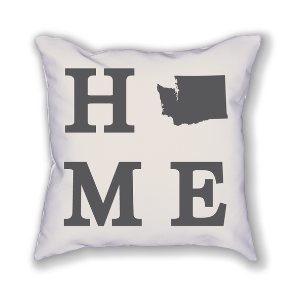 Washington Home State Pillow - Home Sweet Pillow Co