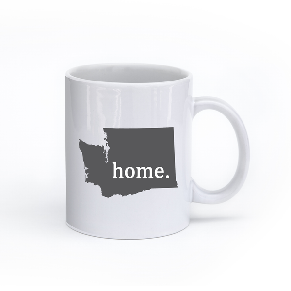 Washington Home State Mug - Home Sweet Pillow Co