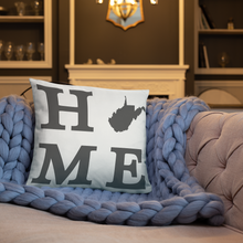 Load image into Gallery viewer, West Virginia Home State Pillow - Home Sweet Pillow Co