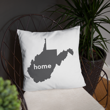 Load image into Gallery viewer, West Virginia Pillow - Home Sweet Pillow Co