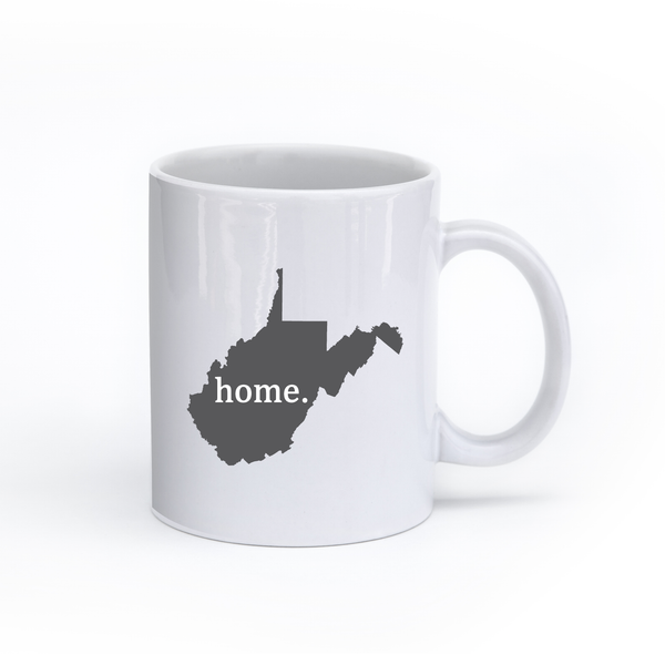 West Virginia Home State Mug - Home Sweet Pillow Co